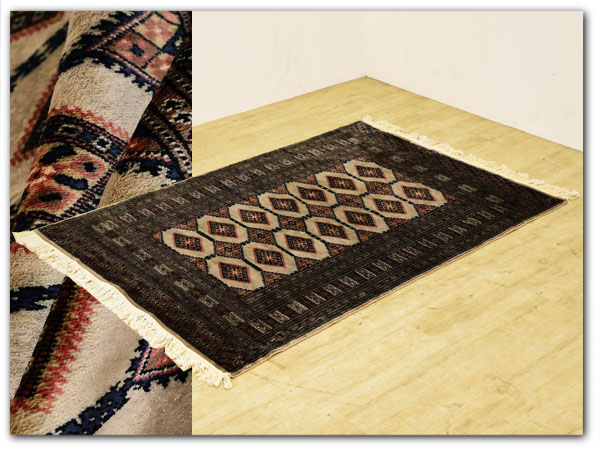 パキスタン ウール 手織り ペルシャ絨毯