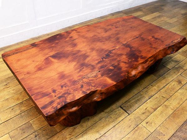 世界遺産 屋久杉 一枚板 座卓