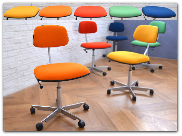Kevi Chair ケヴィチェア オレンジ