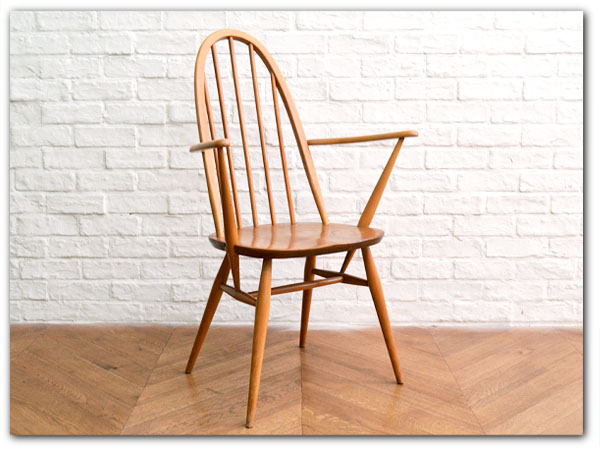 ERCOL ヴィンテージ クエーカーアームチェア