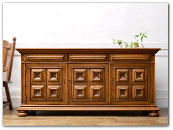 Casle Furniture サイドボード オーク無垢材