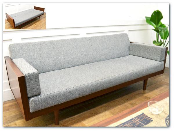 KARF 3人掛け リクライニングソファベッド