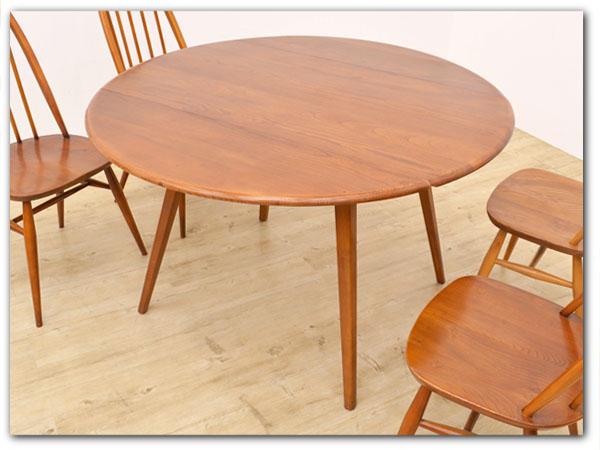 ヴィンテージ ドロップリーフテーブル