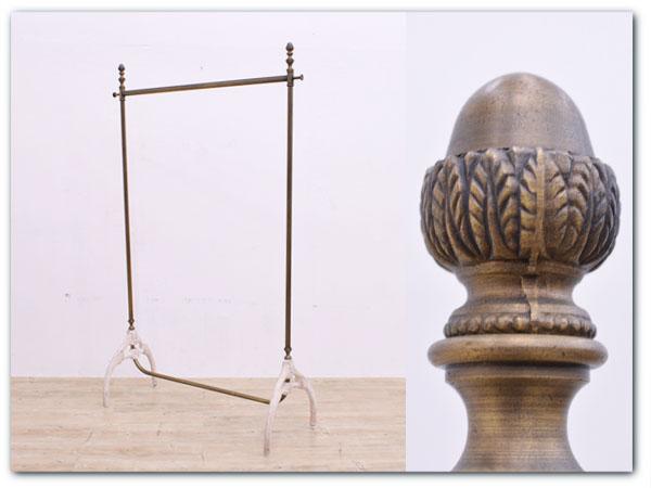 真鍮製 ハンガーラック