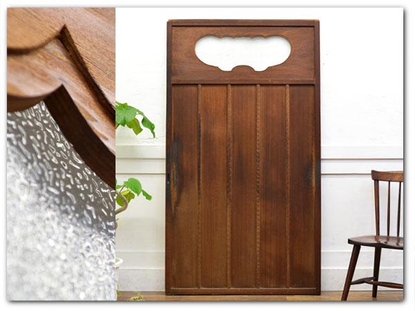 古い木製引戸
