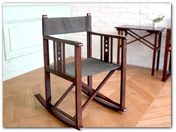 日本楽器 山葉文化椅子ロッキングチェア1脚