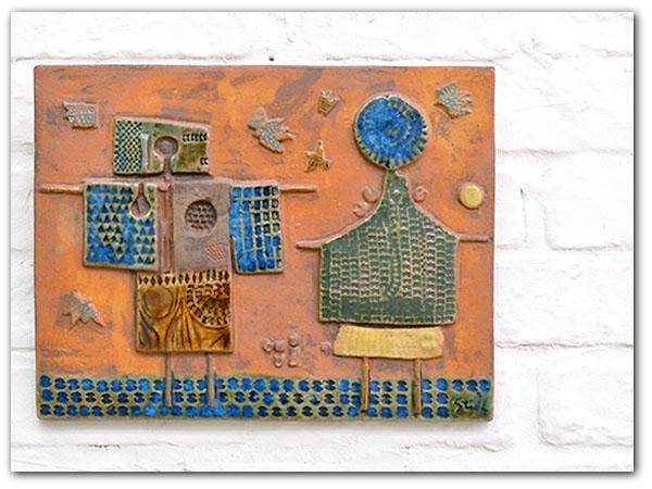 Stig Lindberg Studio Plate