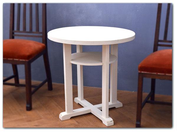 アールデコ様式 リメイクペイント サイドテーブル