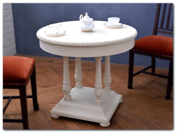 リメイクペイント アンティークコーヒーテーブル