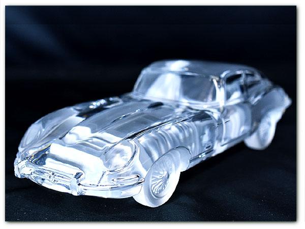 DAUM  FRANCE Jaguar クリスタルガラス オブジェ