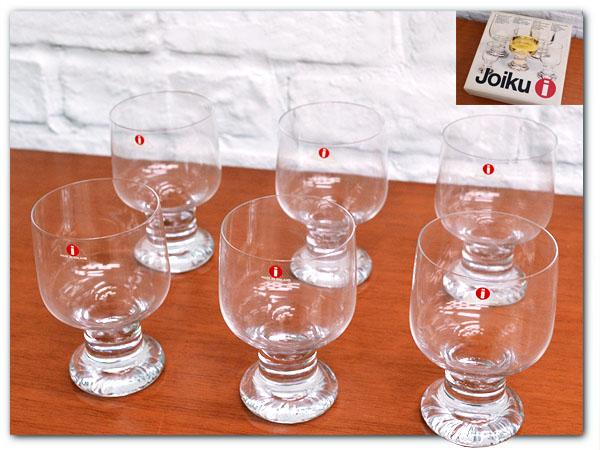 JOIKU ホワイトワイングラス 6客