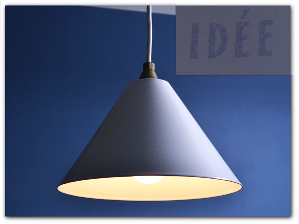 イデー IDEE / Japan PORCELAIN ENAMELED IRON LAMP