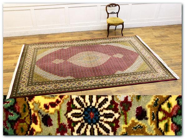 ウール製ペルシャ絨毯