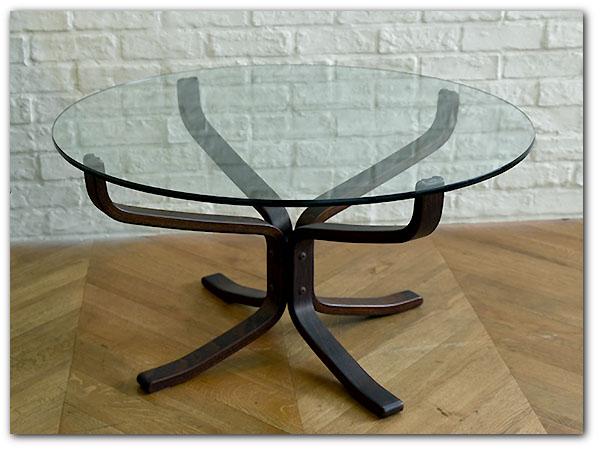 ファルコン ガラステーブル