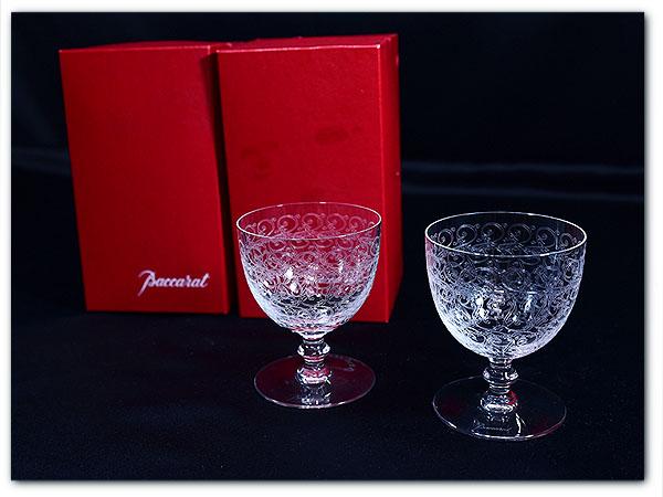 バカラ Baccara / France ローハン ワイングラス2客セット