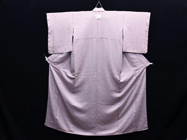 変わり織り 一つ紋 色無地 着物