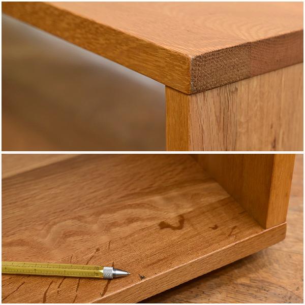 MUJI 無垢材テーブルベンチ オーク材