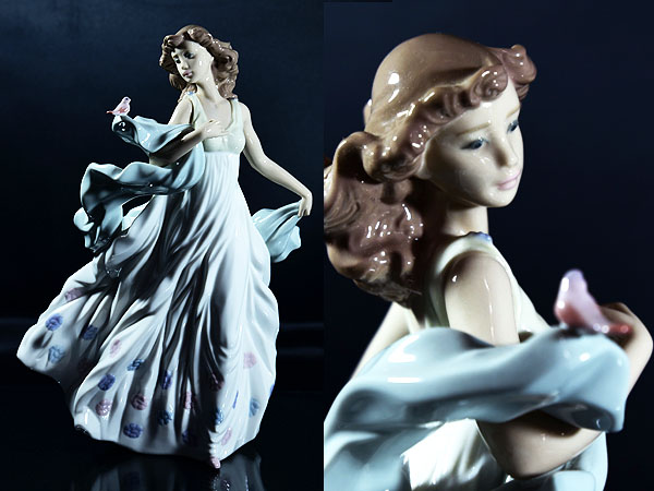 No.6193 夏のセレナーデ 陶器人形