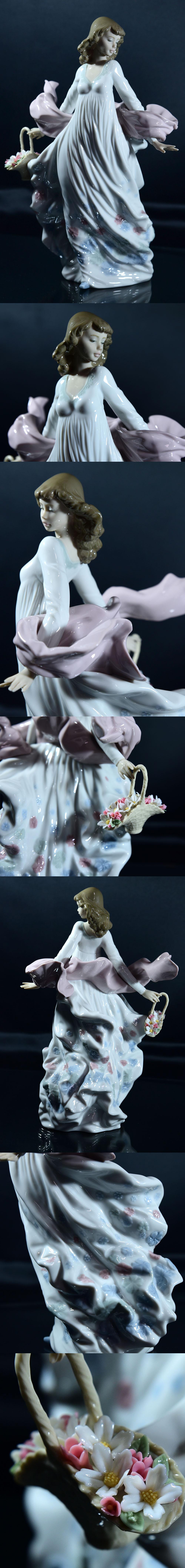 No.5898 春の輝き 少女 陶器人形