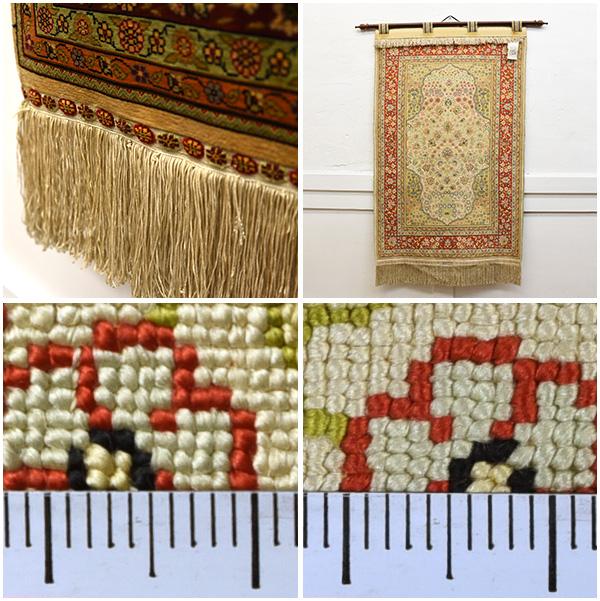 シルク ヘレケ絨毯 タペストリー