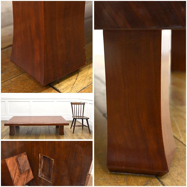 #26154 ブビンガ 極厚一枚板 テーブル 送料表