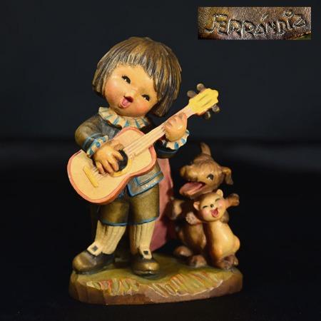 アンリ ANRI / Italia ANRI ferrandiz 木彫り人形