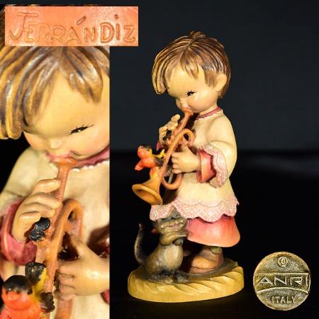 ANRI ferrandiz 木彫り人形