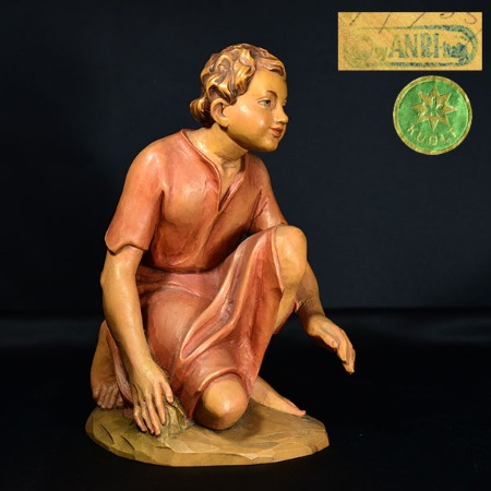 ANRI / Karl Kuolt 木彫り人形