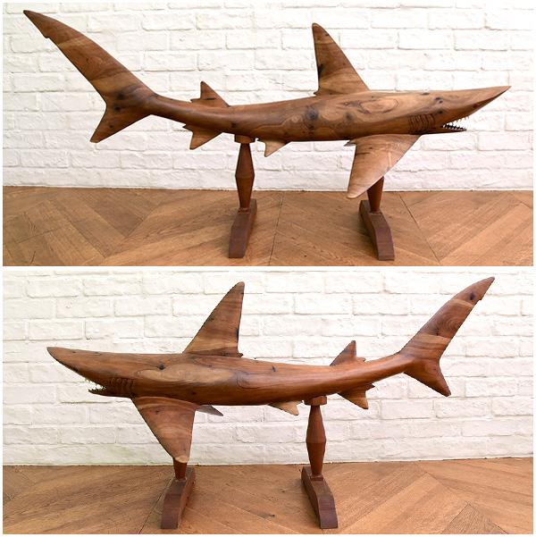 アートオブジェ 鮫