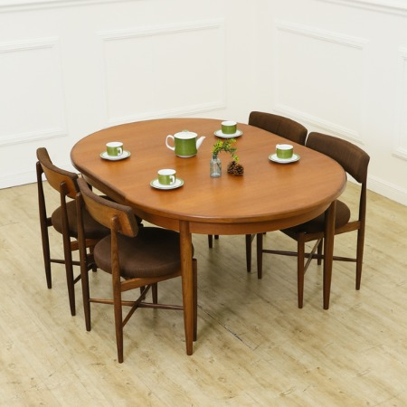 G-PLAN オーバル エクステンションテーブル