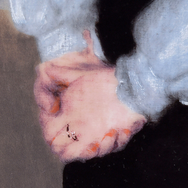ROYAL COPENHAGEN ルノワール 陶板画