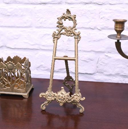 ロココ様式 真鍮製ミニイーゼル
