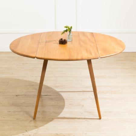 ERCOL ヴィンテージ ドロップリーフテーブル