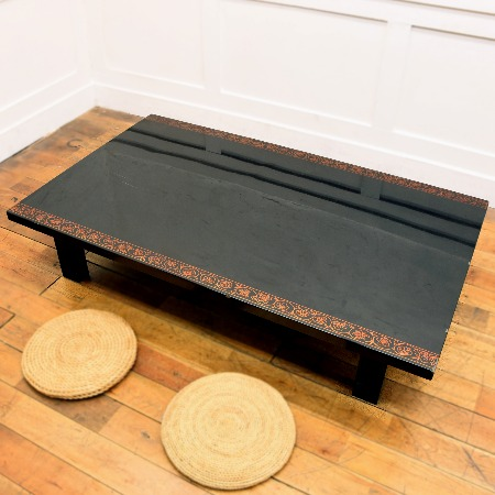 輪島塗 蒟醬座卓