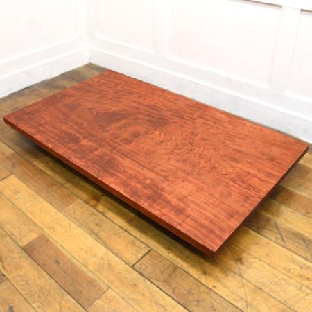 ブビンガ 無垢一枚板 テーブル天板