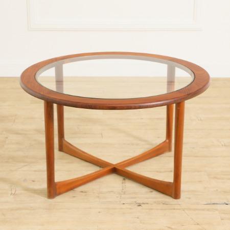 McINTOSH ガラストップコーヒーテーブル