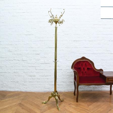 真鍮製クラシックポールハンガー