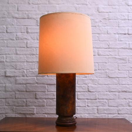 アンティークスタイル ブロンズ製テーブルランプ