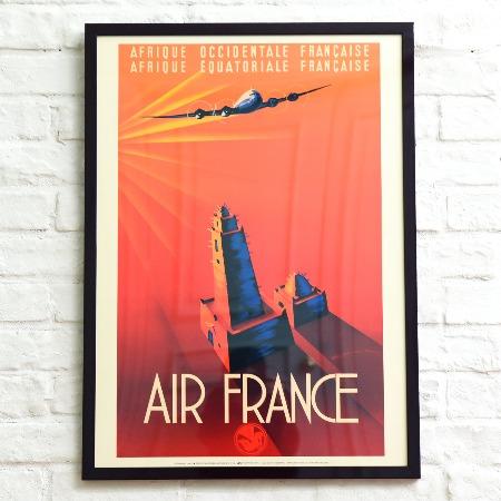 Air France  額装