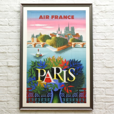 Air France / PARIS 額装