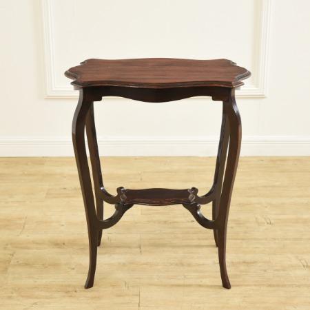 マホガニー材 サイドテーブル