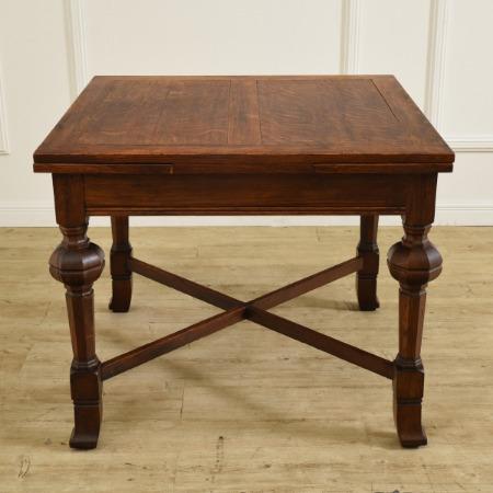 英国アンティーク ブリティッシュオーク ドローリーフテーブル