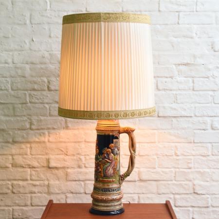 ドイツ製 ビアジョッキ型 テーブルランプ