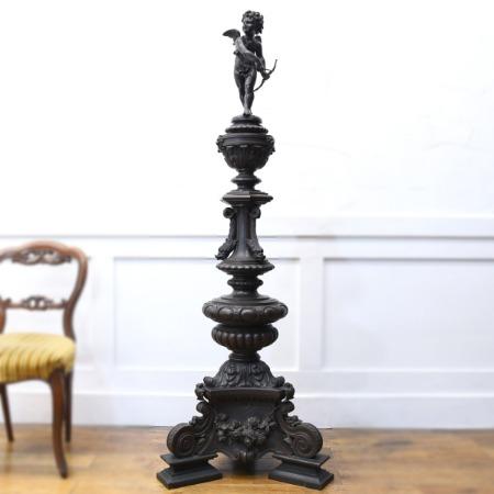 バロック様式 真鍮製オブジェ