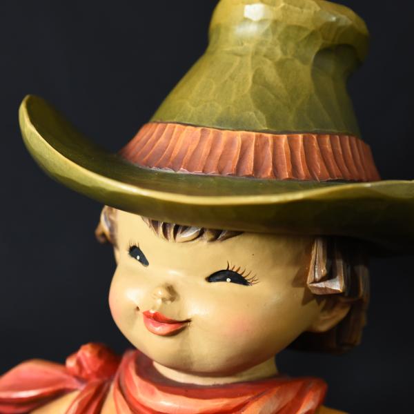 ANRI ferrandiz カウボーイ 木彫人形