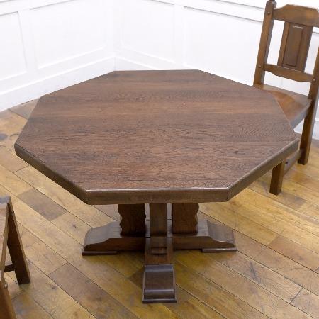 オランダ民芸家具 ダイニングテーブル