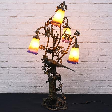 Muller 真鍮テーブルランプ4灯s