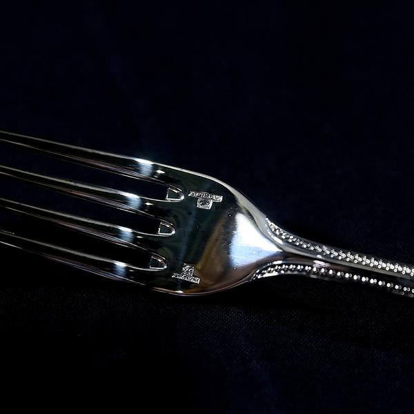Christofle パール デザートフォーク6本セット