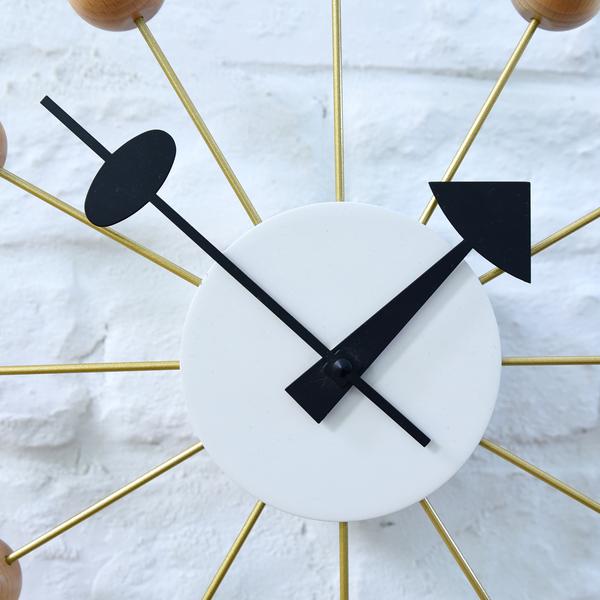 Ball Clock ナチュラル