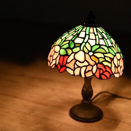 ステンドグラス ティファニーランプ 1灯